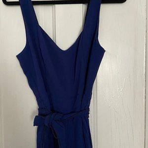 Blue Anthropologie Formal Romper